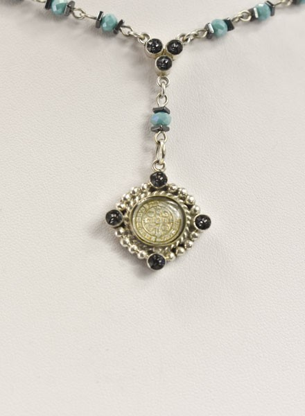 Virgins Saints & Angels Lil Bennie Rosary In Silver Night
