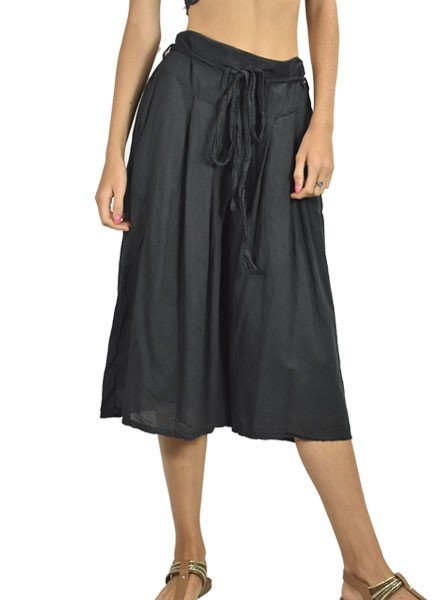 J.P. & Mattie J.P. & Mattie Cropped Bedhead Pocket Pants In Black