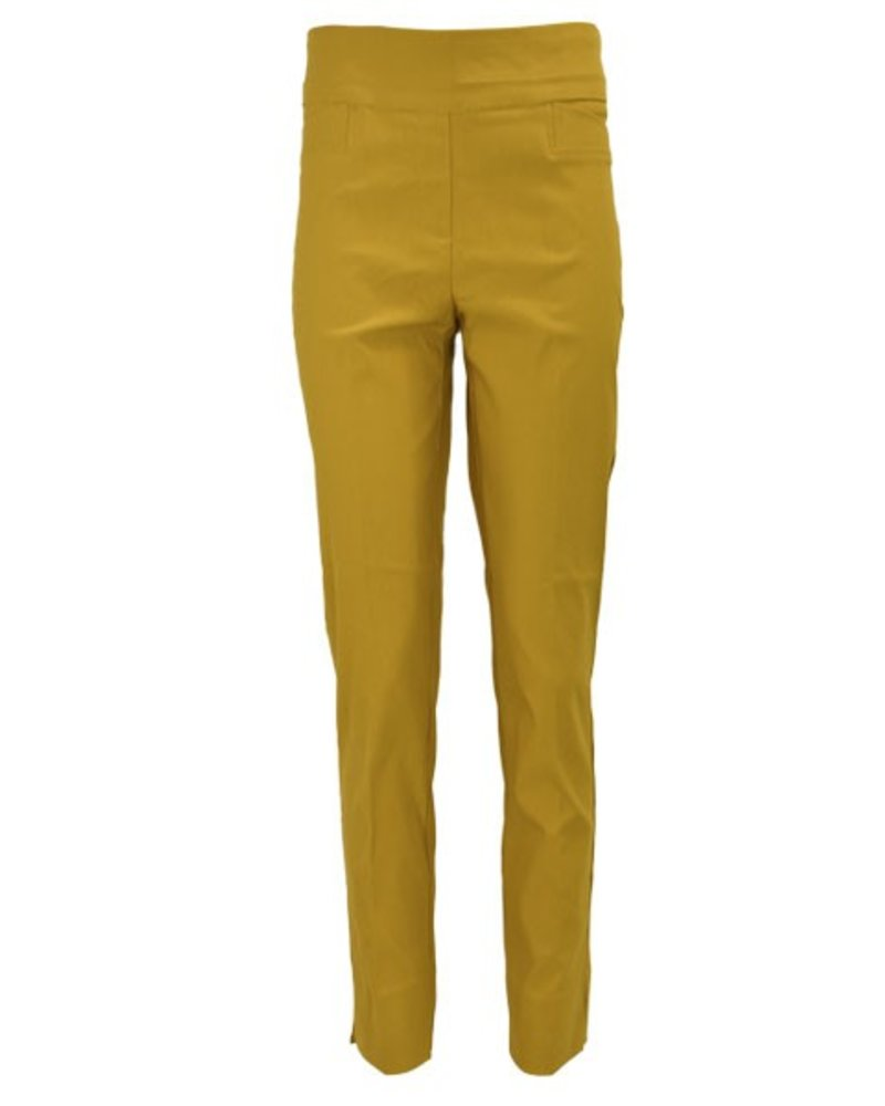 The Ankle Cigarette Magic Pant In Saffron