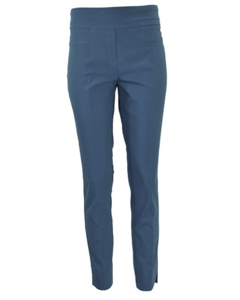 The Ankle Cigarette Magic Pant In Teal