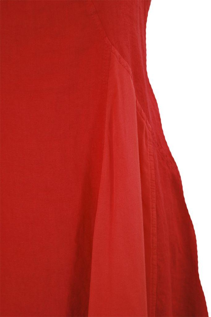 Sophia On The Beach Dress In Red