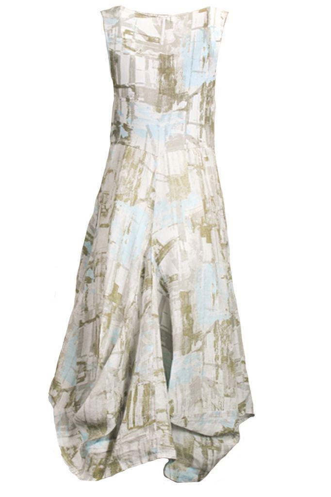Inizio's Stampa Celeste Dress