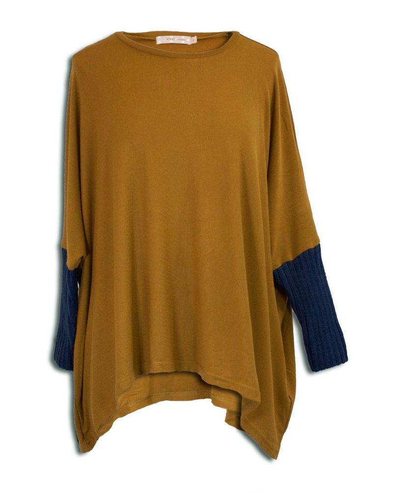 Sloppy Joe Sweater In Brown