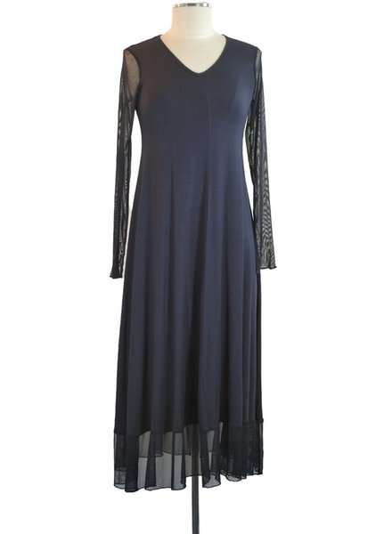The Florida Dress In Navy