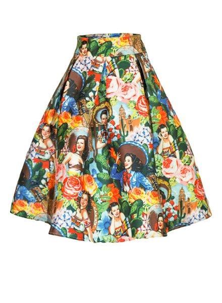 Vintage Mexico Skirt