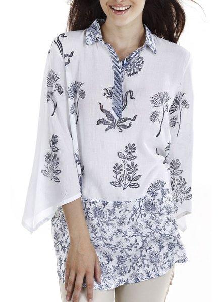 The Bali Bloom Tunic