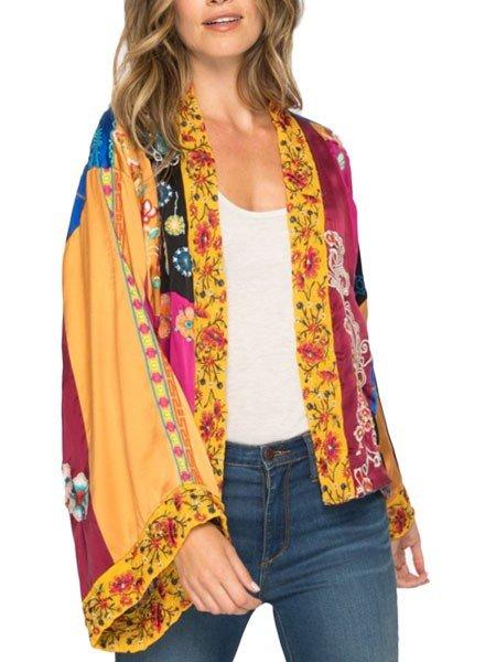 Johnny Was Eevanah Patchwork Kimono