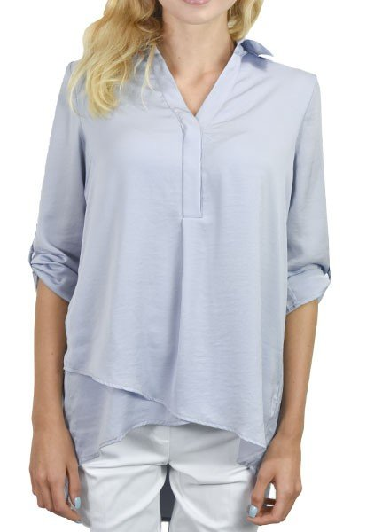 Renuar's Soft And Beautiful Blouse In Cloud
