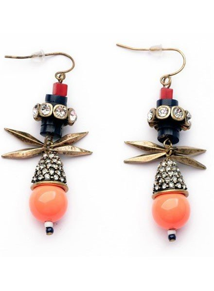 Artfully Orange Earrings
