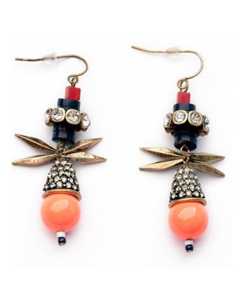 Artfully Orange Earrings