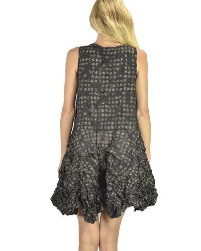 Sun Kim's Crushed Tunic Dress In Alan Print