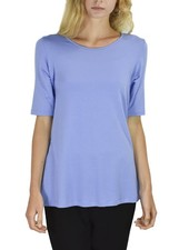 Comfy Elbow Sleeve Tunic In Orchid