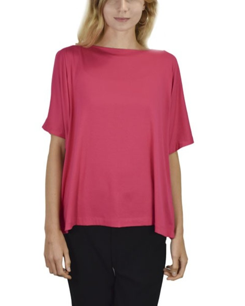 Comfy's Mia Top In Miami Pink