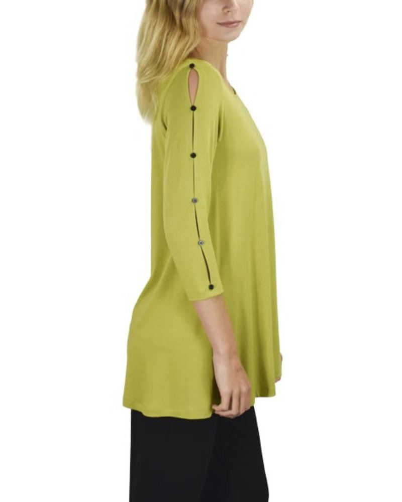 Comfy's Lilly Tunic In Celery