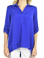 Renuar's Soft And Beautiful Blouse In Royal