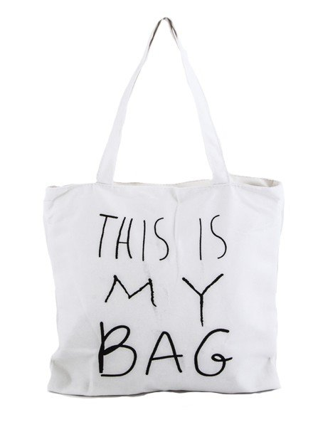 """This Is My Bag"" Canvas Tote"