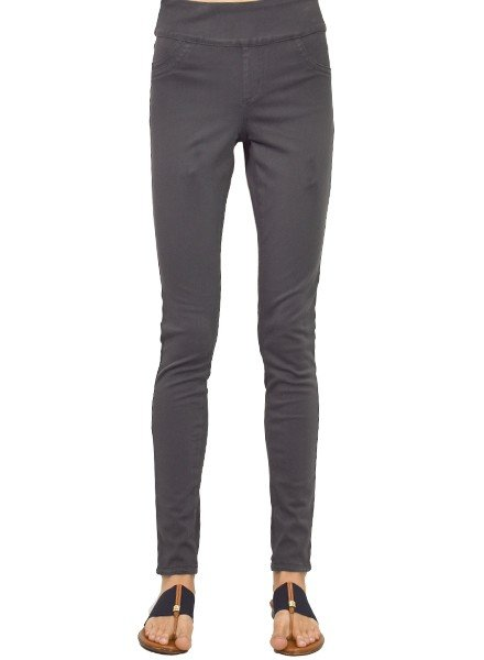 Love Denim Slim Jegging In Pewter Denim