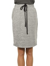 I Noah Penicl Skirt In Heather Grey