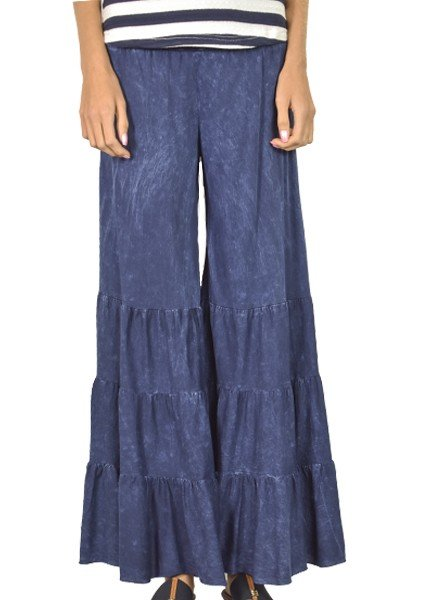 Take Me To Rio Pants In Dark Denim