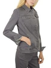 Renuar's Magic Jean Jacket In Denim Grey