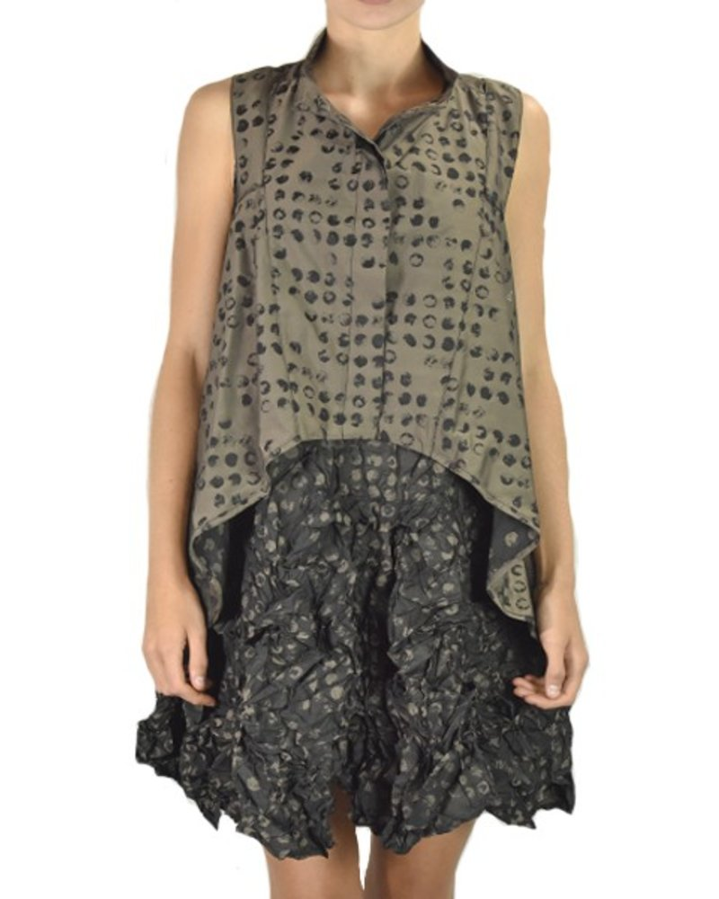 Comfy U.S.A. Comfy Como Vest In Karen Print