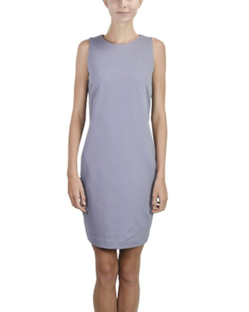 Renuar Forest Lilly Lace Up Lavender Dress