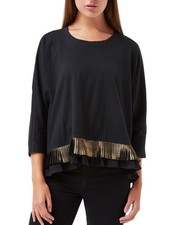 Traffic People Traffic People's Blatantly Bold Top In Black
