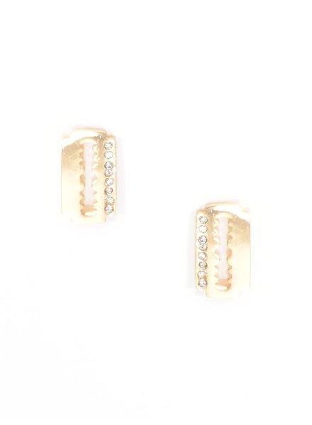 Razor Sharp Stud Earrings