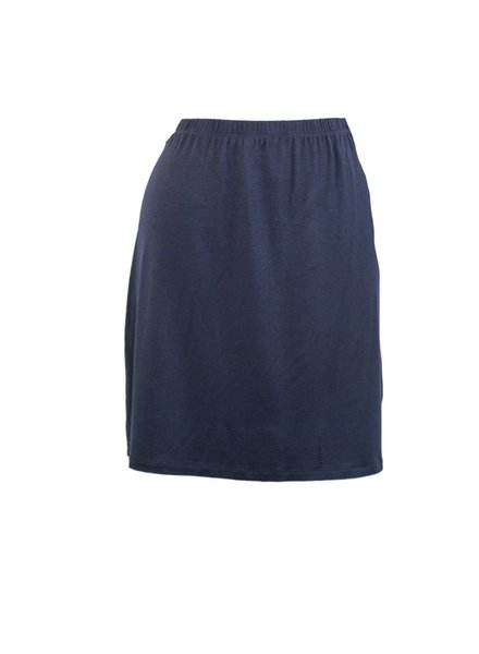Comfy U.S.A. Comfy's Short Skirt In Navy