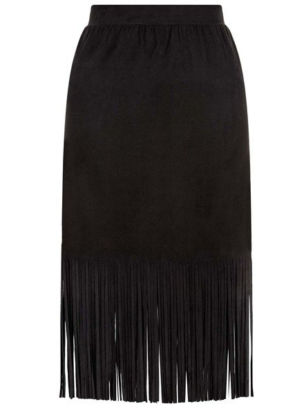 Traffic People's Calamity Skirt In Black