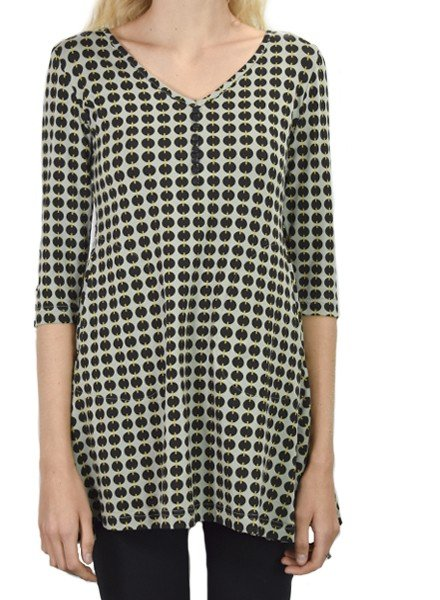 Effie's Heart Esplanade Tunic In Paillette Print