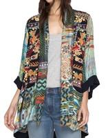 Johnny Was Koben Canvas Embroidered Kimono