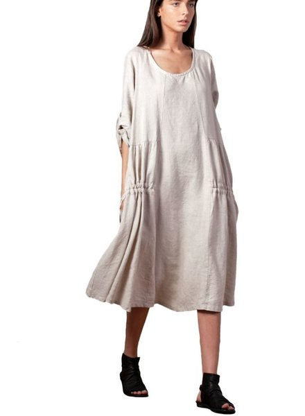Gershon Bram Greta Dress In Natural