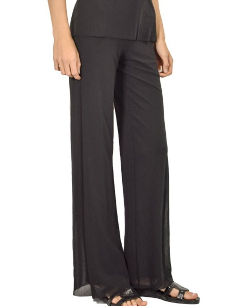 Petit Pois Mesh Classic Pant In Black