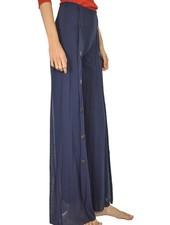 Petit Pois Palazzo Sailor Pant In Midnight Blue