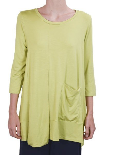 Comfy's Ivy Tunic In Chartreuse