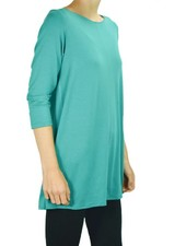 Comfy's Avery Tunic In Cyan