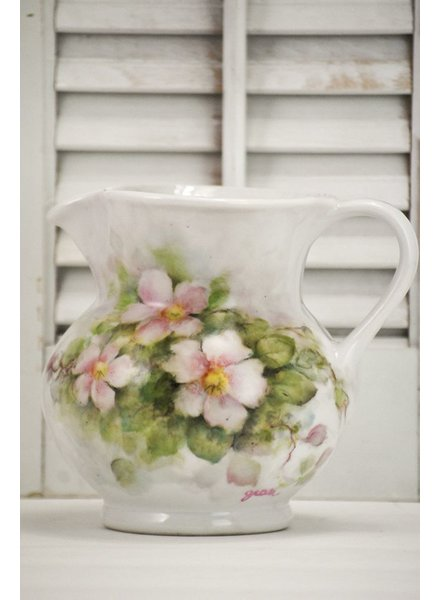 Hand Painted Pitcher