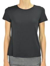 Comfy U.S.A. Comfy Short Sleeve Tee In Black