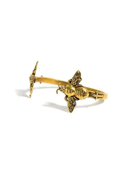 VSA Bee Mine Cuff In Gold