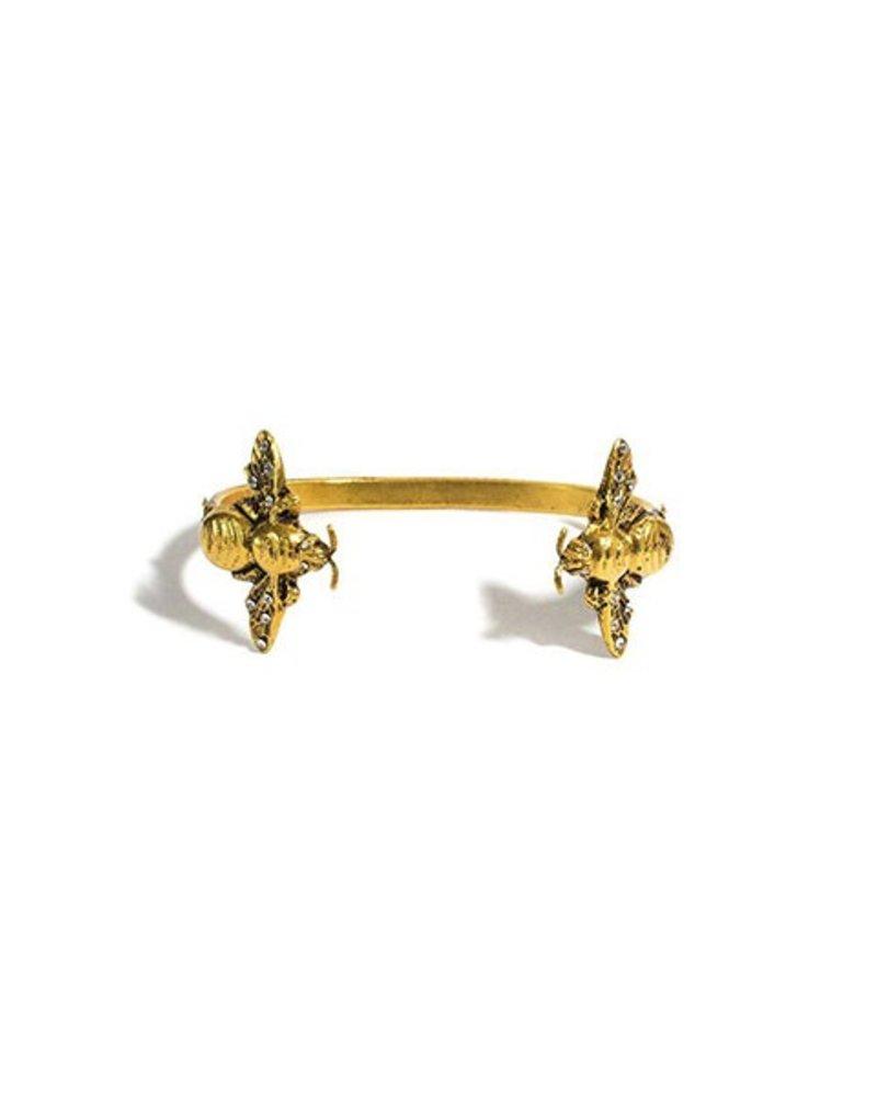 VSA Bee Mine Cuff In Gold