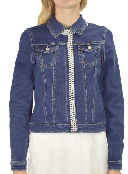 French Dressing French Dressing Pearl Jean Jacket In Indigo