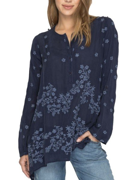 Johnny Was Blossom Blouse In Dawn