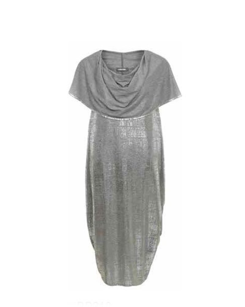 Alembika Alembika Convertable Dress In Silver