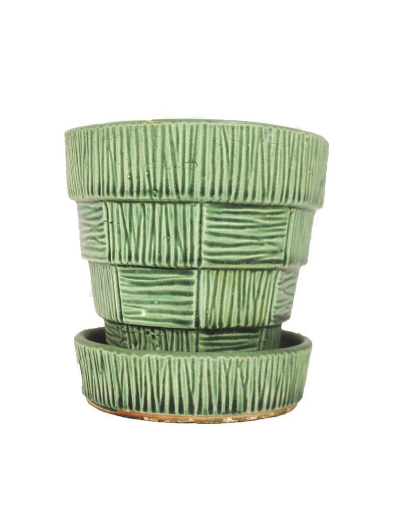 Green McCoy Planter