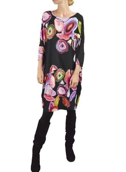 Alembika Alembika's Geo Swirl Bubble Dress