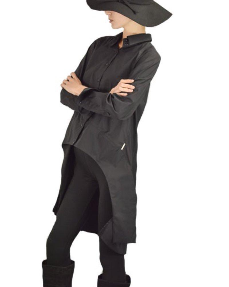 Griza's Tuxedo Shirt In Black