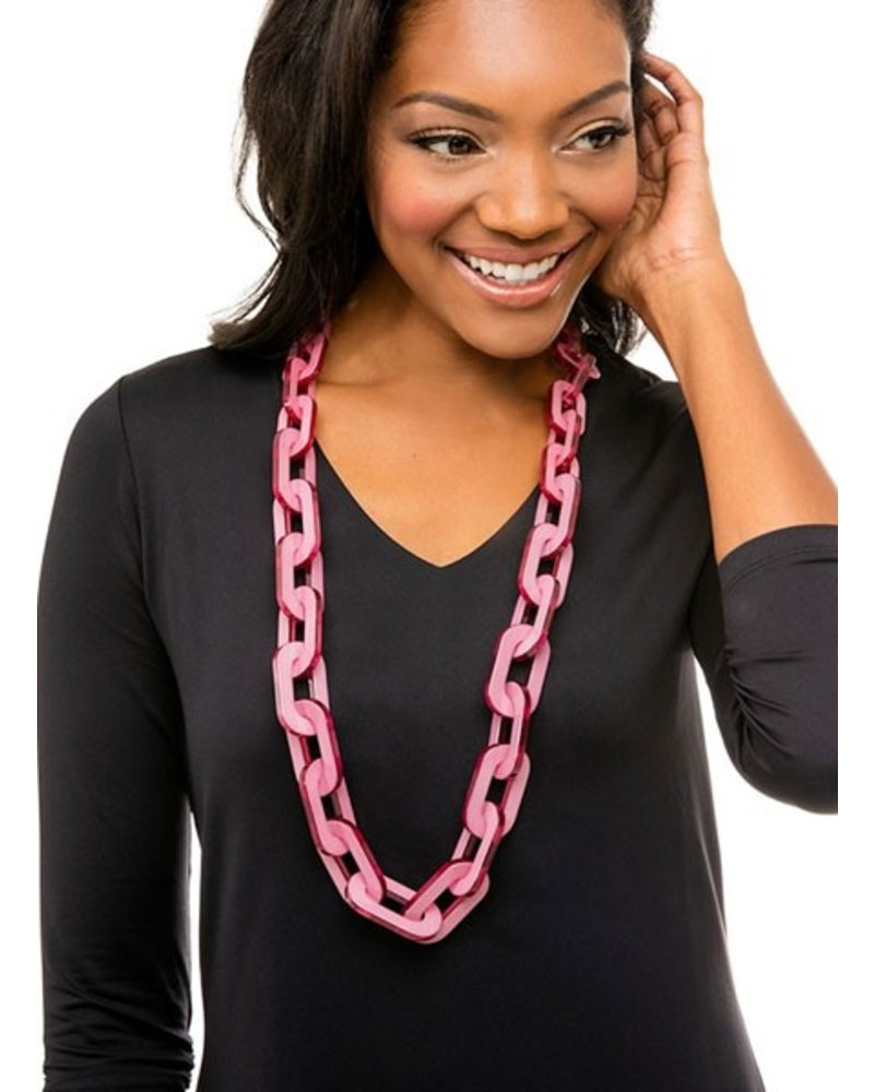 Lovely Links In Hot Pink
