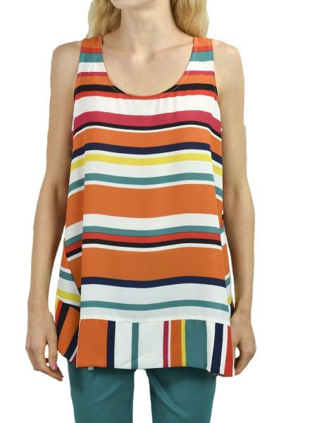 Renuar's Tropical Sleeveless Top