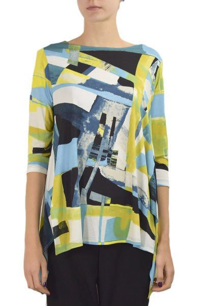 Comfy's Vancouver Tunic In Jennifer Print